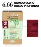 6.66 BIONDO SCURO ROSSO PROFONDO
