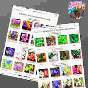 Fall gardening guide. September planting list