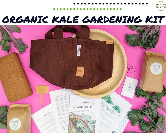 Organic Kale Gardening Kit