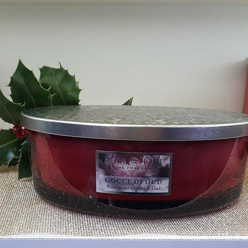 Candela in cera di soia Ellipse HEART & HOME  420 gr