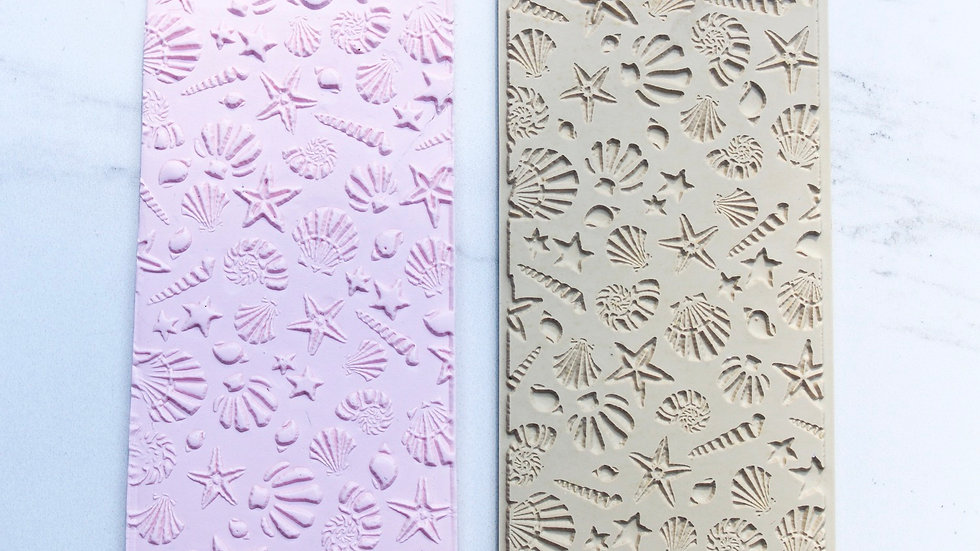 Seashells   Texture Mat