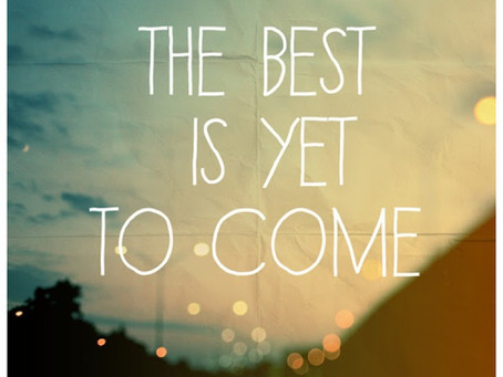 To New Beginnings - No Time Like The Present!