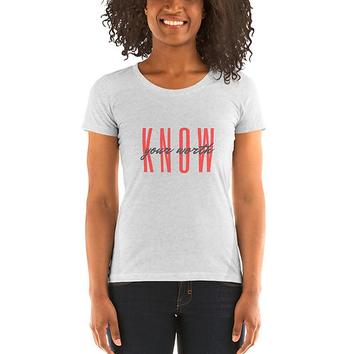 Know Your Worth Tee