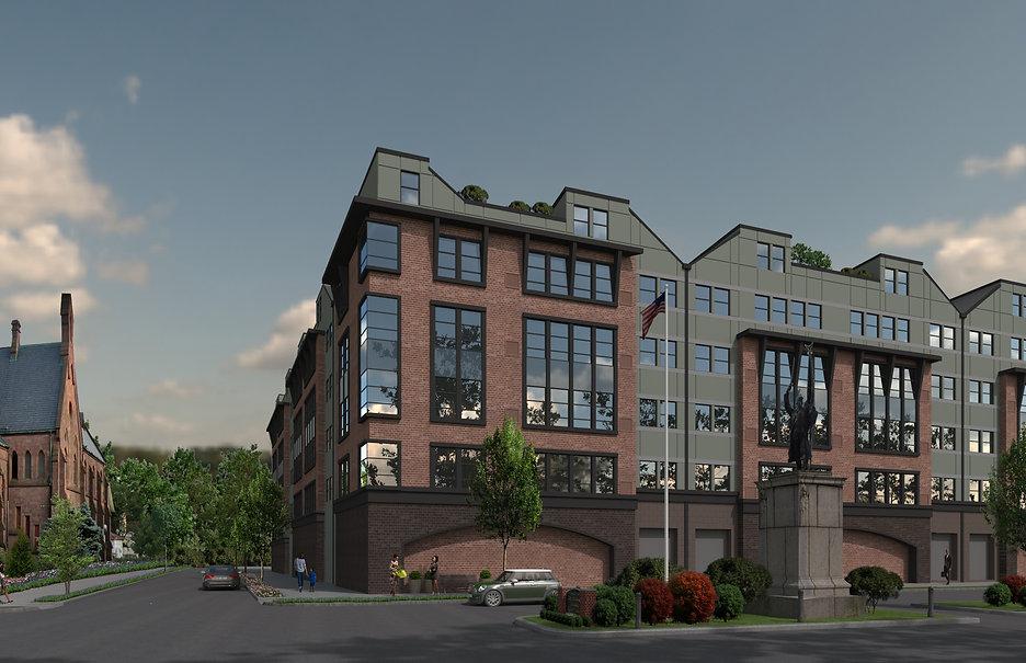 Apartment Building - Orange, NJ - Color Scheme 1