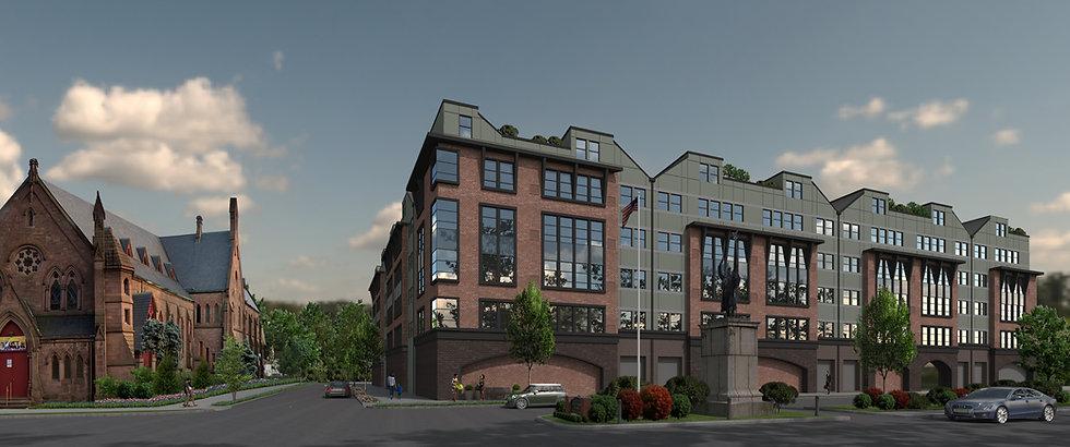 Apartment Building_Orange NJ_Color Schem