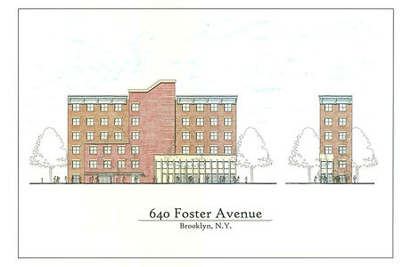 Foster Avenue Buildng in Brooklyn