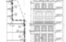 Blue Print for 36th Street in New York, NY