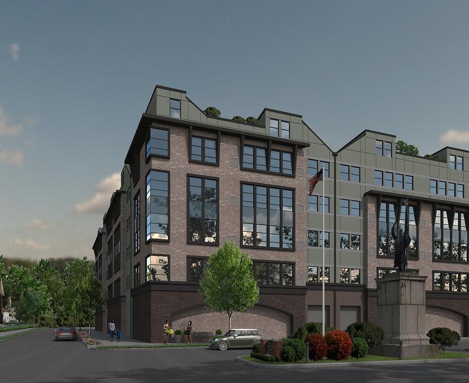Apartment Building - Orange, NJ - Color Scheme 3