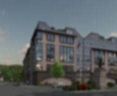 Apartment Building - Orange, NJ - Color Scheme 2