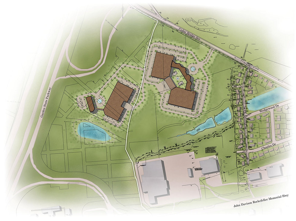 Warehouse Site Plan - Lakewood, NJ v- Ve