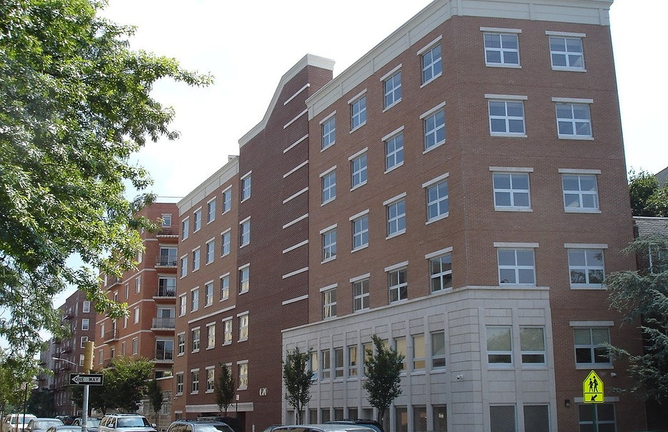 Three-Fourths view of 640 Foster Avenue