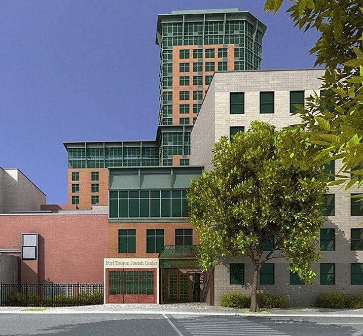 Condominiums and Jewish Center in New York, NY