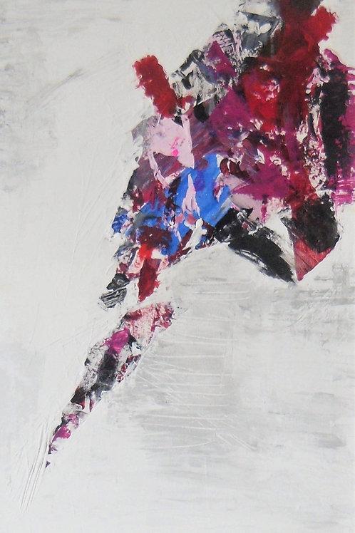 Acryl gemalt 40x120 cm