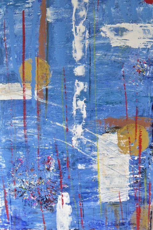 Acryl gemalt 80x120 cm