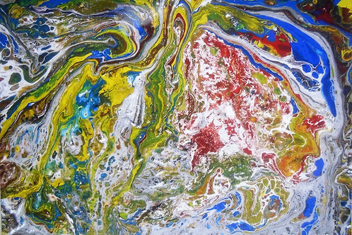 Hochglanz Kunstfoto 70x50 cm