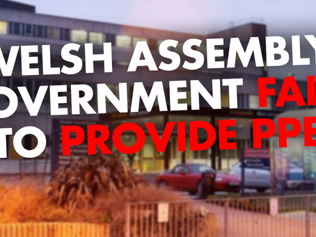 Health Workers Concerns over Lack of PPE from Welsh Assembly Government