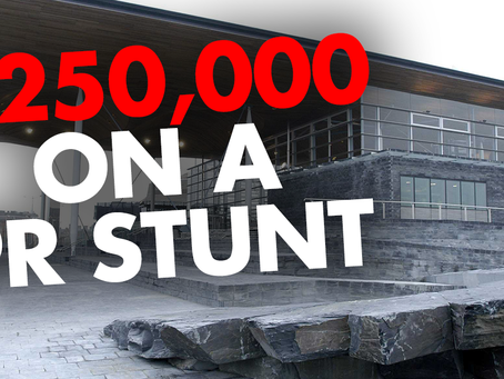 Assembly to Spend £250,000 on PR Stunt