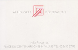 Alain Graf Déco - Grafinca Home