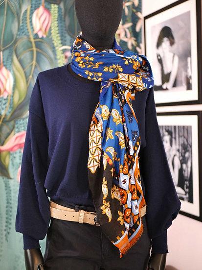 Foulard motifs colorés