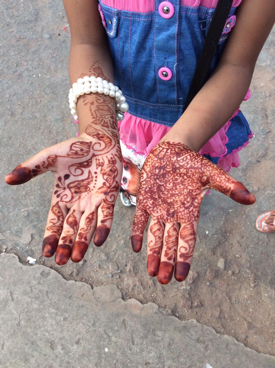 インド旅で出会った女の子