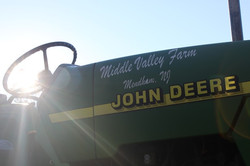A Tractor in Mendham NJ