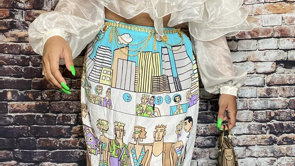 Ibiza skirt size 10