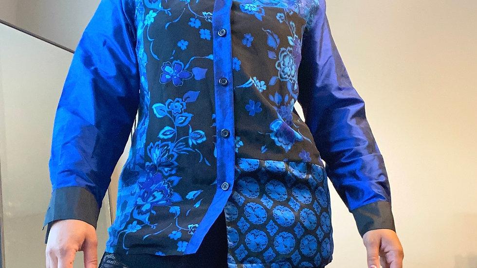 Blue dreams top size medium