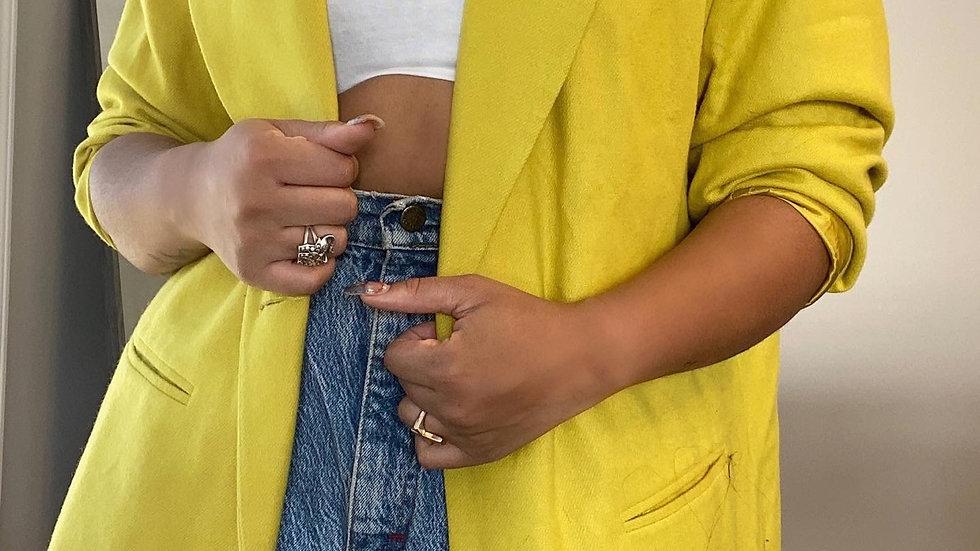 Golden blazer size 2x