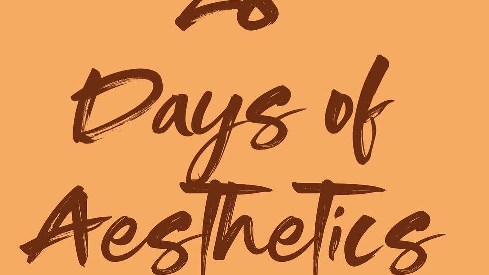 28 Days of Aesthetics