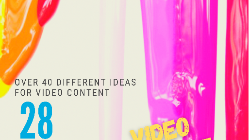 40 video content ideas