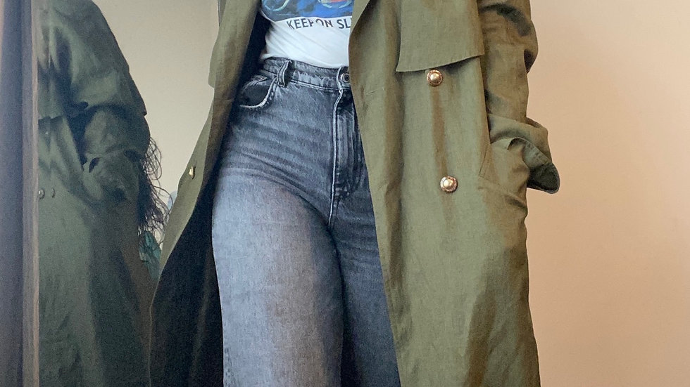 Olive trench size 1x