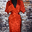 Thumbnail: Vintage Michelle Stuart silk dress size 4