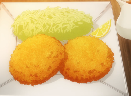 "Crunchyroll #54: Minced Meat Cutlets from ""Restaurant to Another World"""