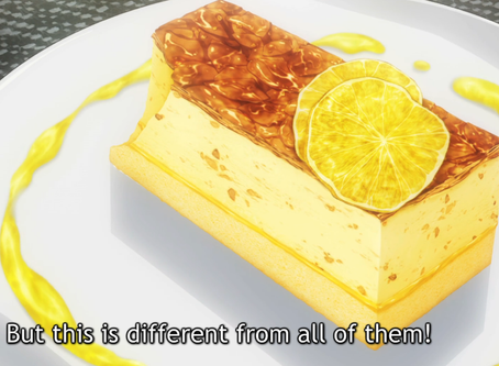 Crunchyroll #8: Four Layer Semi Freddo from Food Wars!