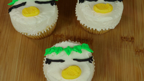 Keppi the Kappa Cupcakes from Sarazanmai