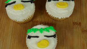 Keppi the Kappa Cupcakes from Sarazanmai