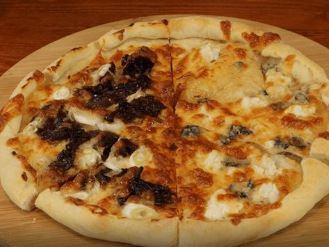 Takumi's Doppio Mezzaluna Pizza