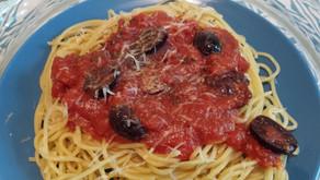 Pasta Puttanesca from Jojo's Part 4