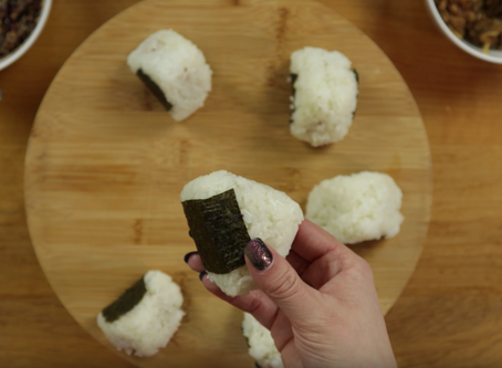 April Fool's Onigiri inspired by Food Wars!