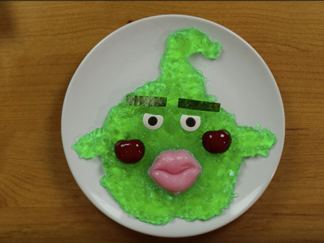 Dimple Jello Dessert from Mob Psycho 100