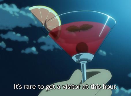 "Crunchyroll #46: Cherry Lemon Martini from ""The Eccentric Family 2"""