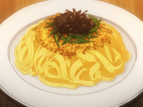 """Crunchyroll #61: Natto Spaghetti from """"Restaurant to Another World"""""""