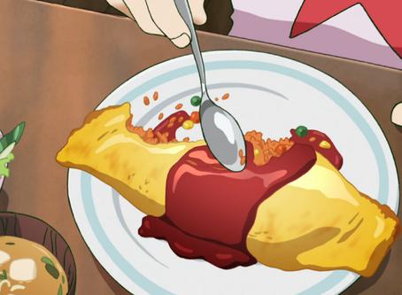 Crunchyroll #13: Omurice from Mob Psycho 100