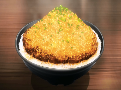 Crunchyroll #4: Chaliapin Steak Don from Food Wars!