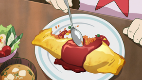 Crunchyroll #13: Omurice from Mob Psycho 100