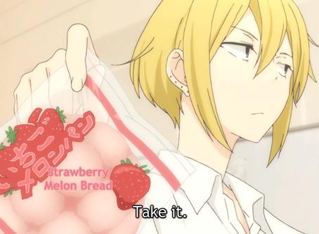 Crunchyroll #6: Strawberry Melon Pan from Tanaka-kun is Always Listless