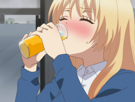 """Crunchyroll # 65: Orange Breeze Cocktail from """"Love is Like a Cocktail"""""""