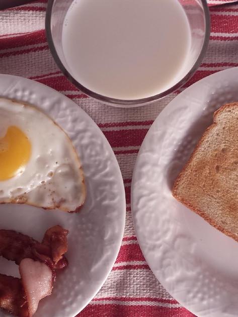 CrunchyRoll Post #3- Final Breakfast from Luluco Space Patrol