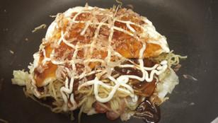 Modan Yaki (Okonomiyaki) from One Piece Movie 6