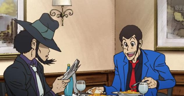 Lupin so happy carbonara